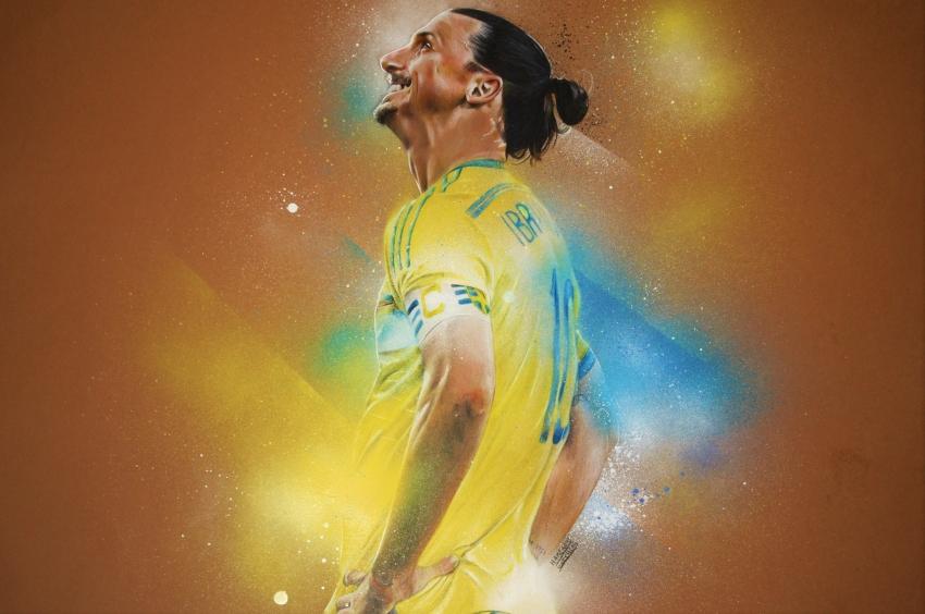 Zlatan Ibrahimovic by MatthiasHamzaoui